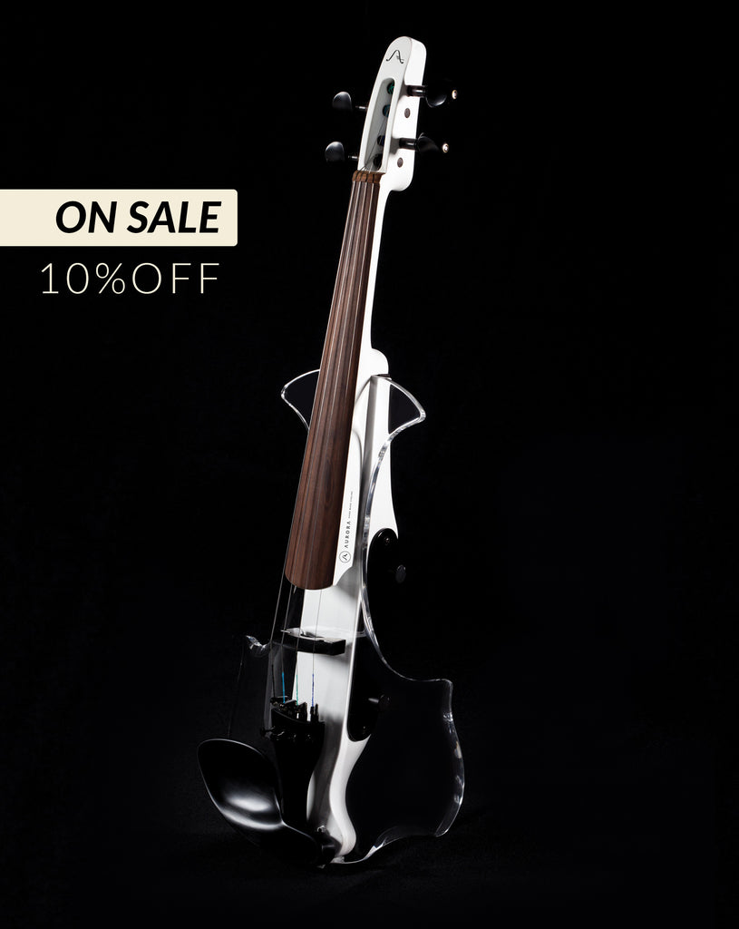 Aurora Classic Electric Violin with built-in leds