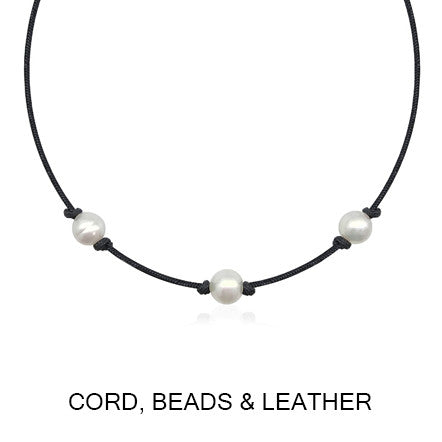Atlas cord beads and leather category