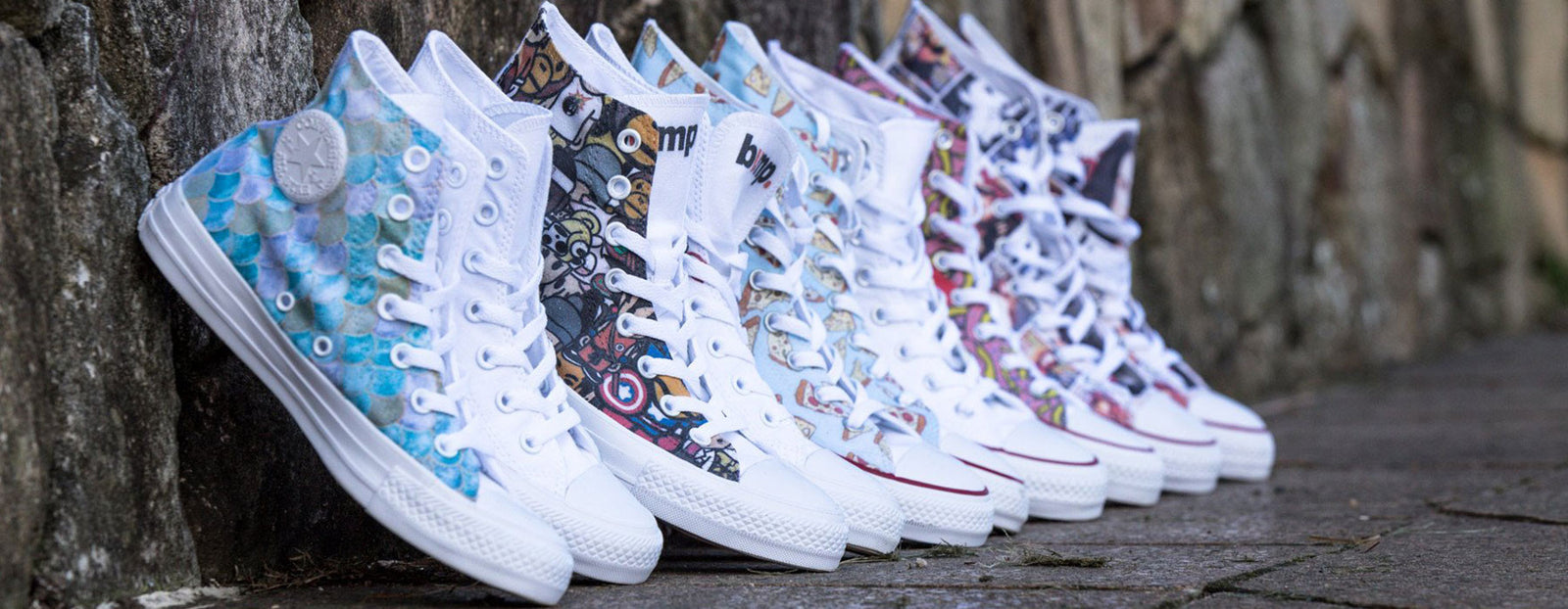 Bump Shoes | Personalised & Custom Converse Chuck Taylor Shoes