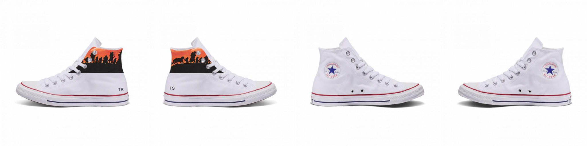 Custom Chuck Taylor Converse High Top