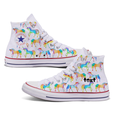 The Unicorn Custom Adult Converse