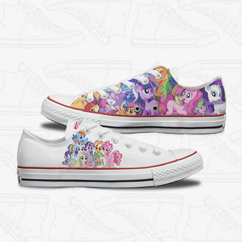 My Little Pony Adult Custom Converse