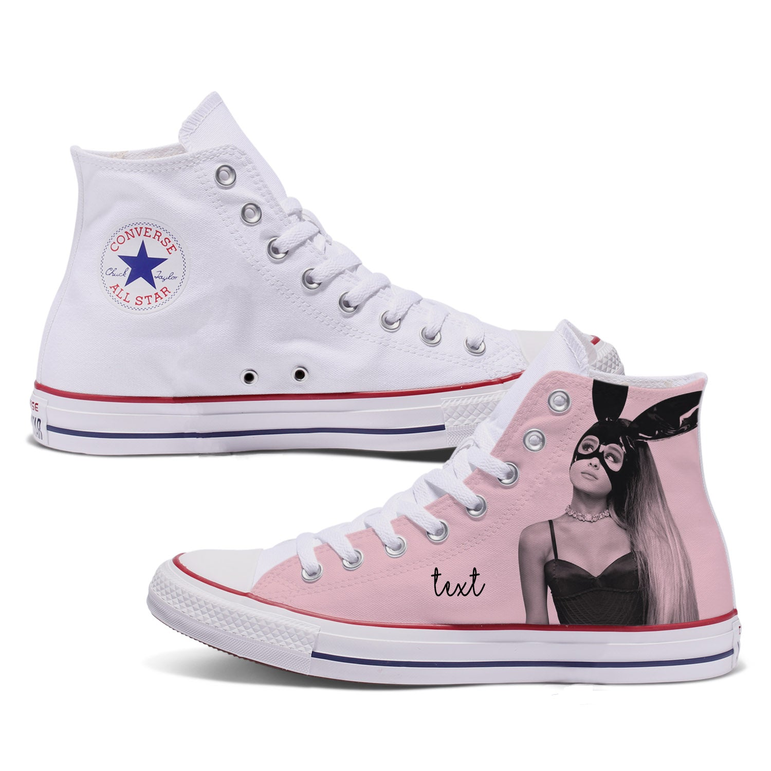 Ariana Dangerous Woman Custom Converse