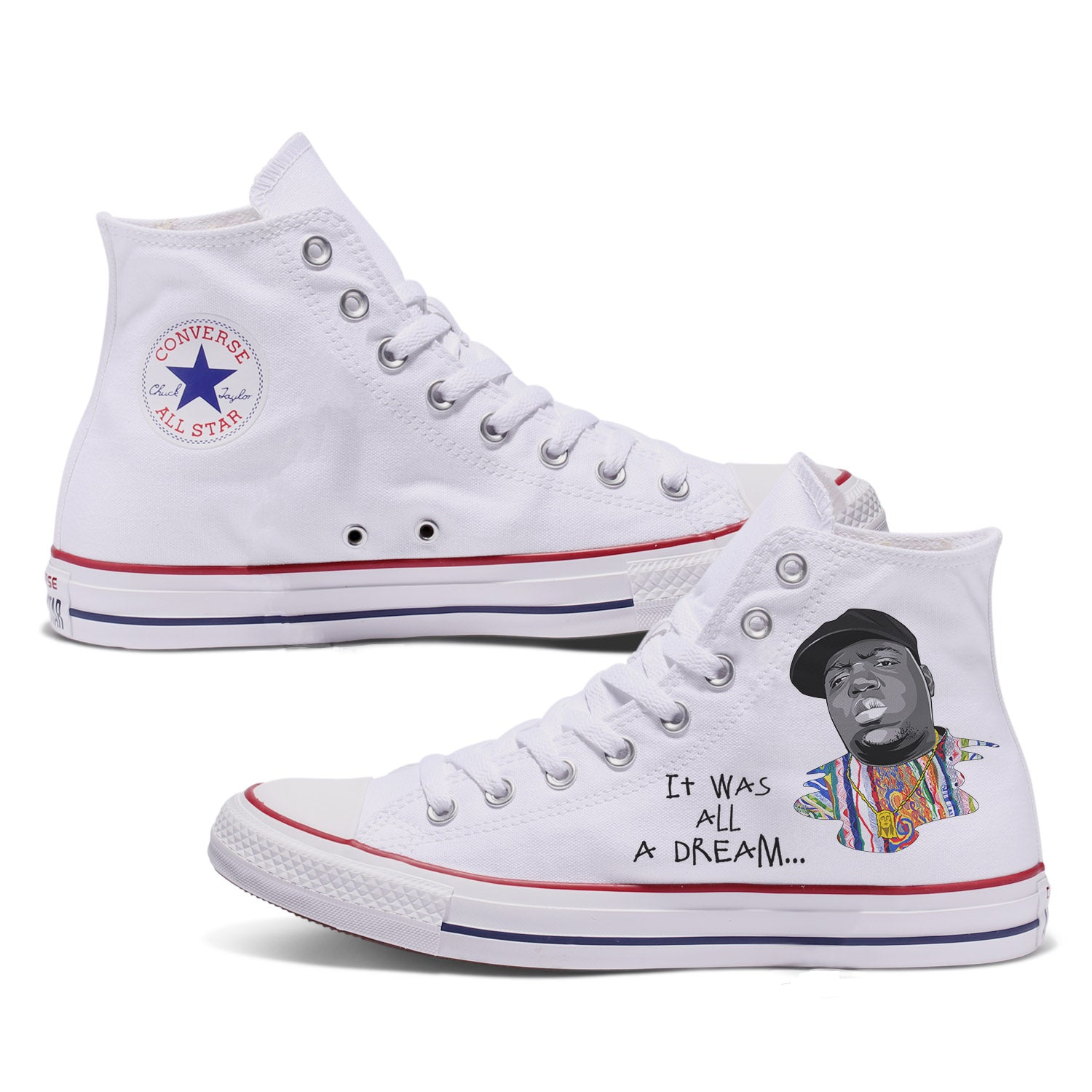 Biggie Custom Converse