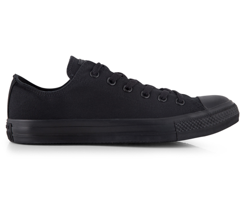 Low Top Custom Converse Chuck Taylor - Monochrome Black - panel 4
