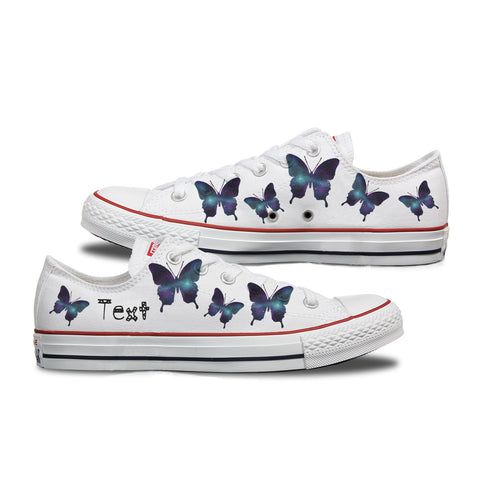 Galaxy Butterfly Custom Converse