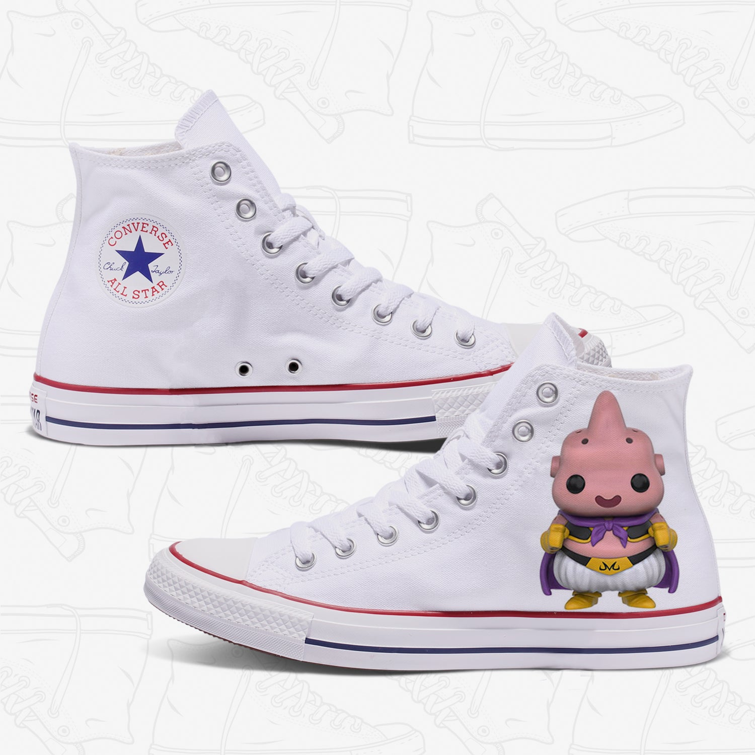 Buu Adult Converse Shoes