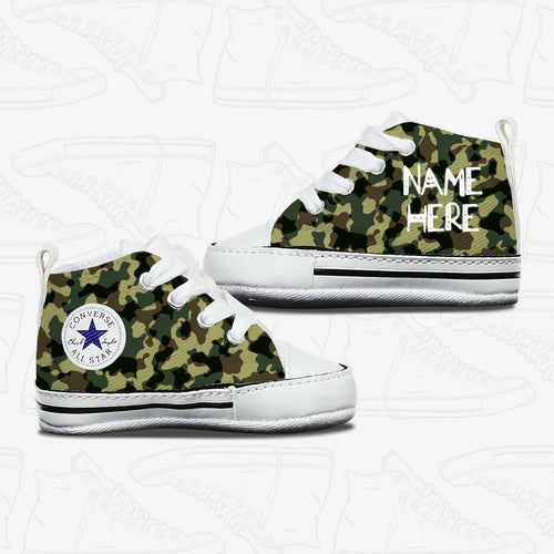 Baby Camo Infant Converse Shoes