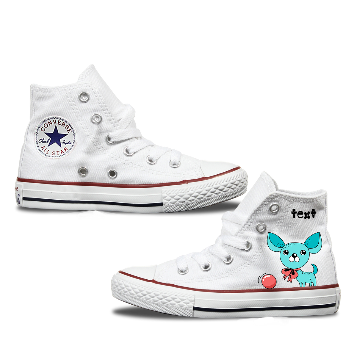 Chihuahua Converse Shoes
