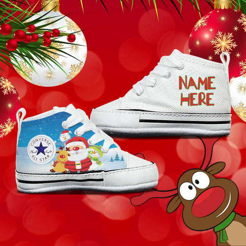 Christmas Baby Converse