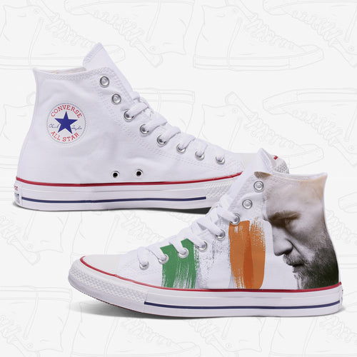 Coner Mcgregor Adult Converse Shoes