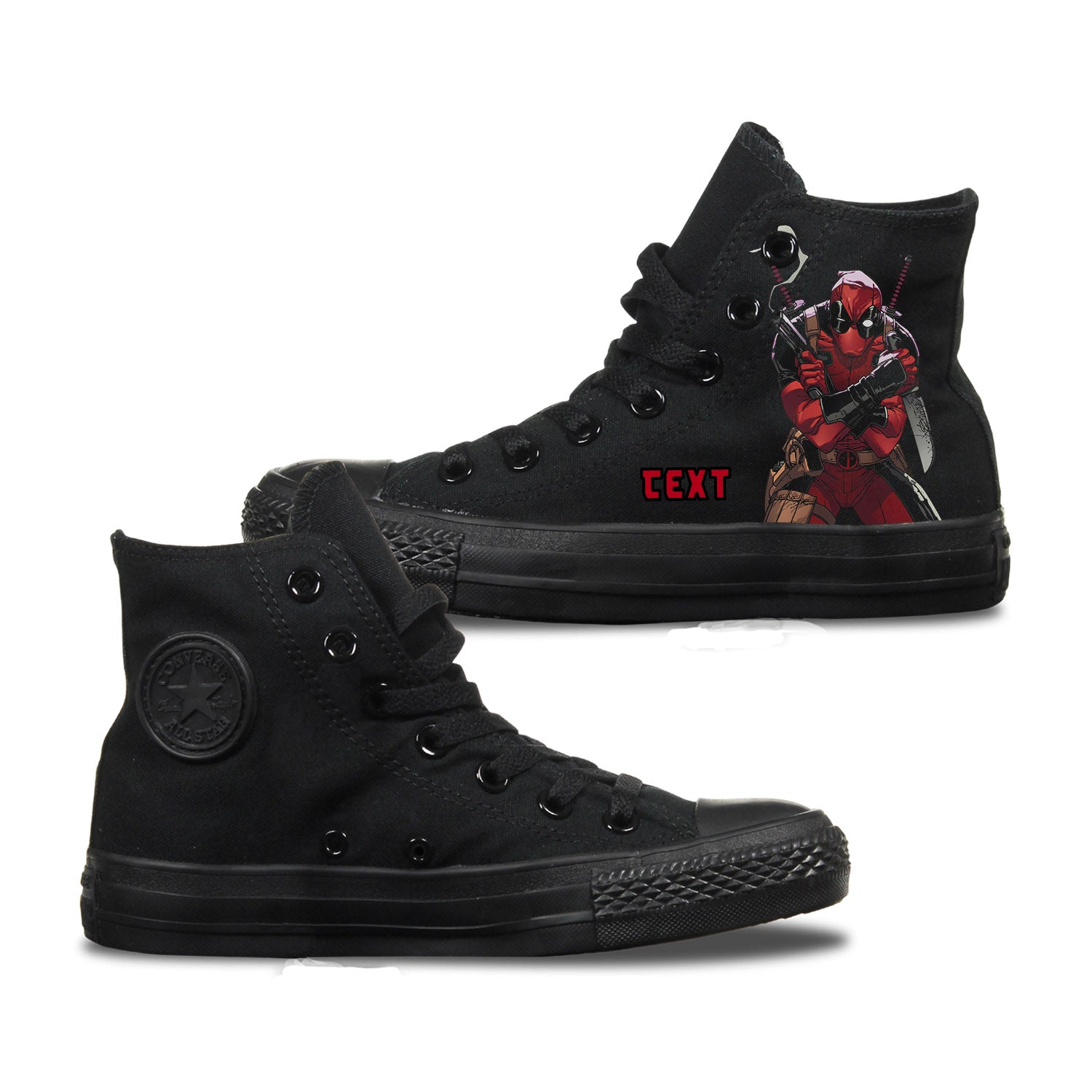 Deadpool Custom Converse