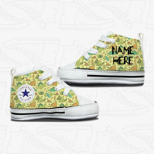 Baby Dinosaur Infant Converse Shoes