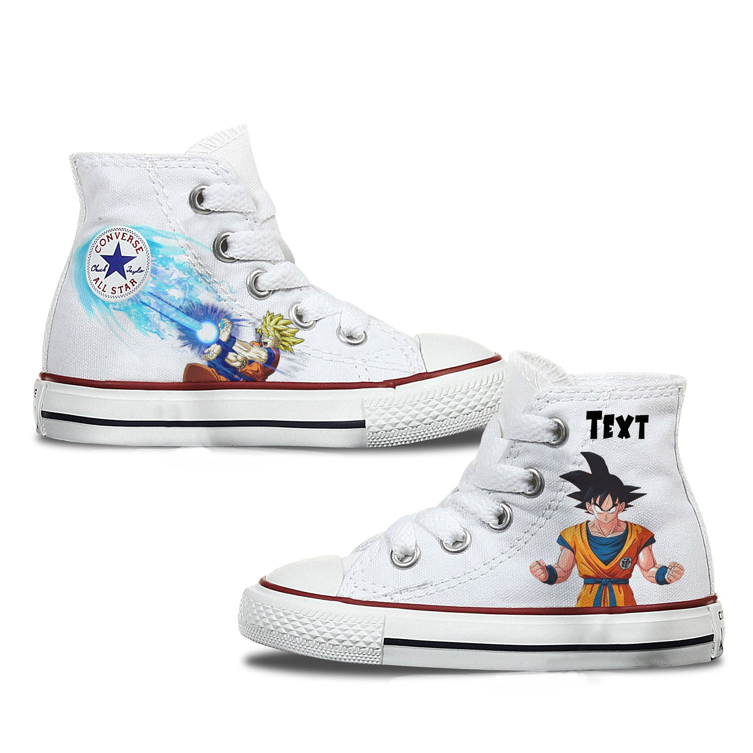 Dragon Ball Z Custom Converse