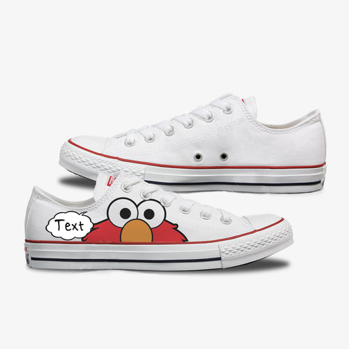 Adult Elmo Custom Converse