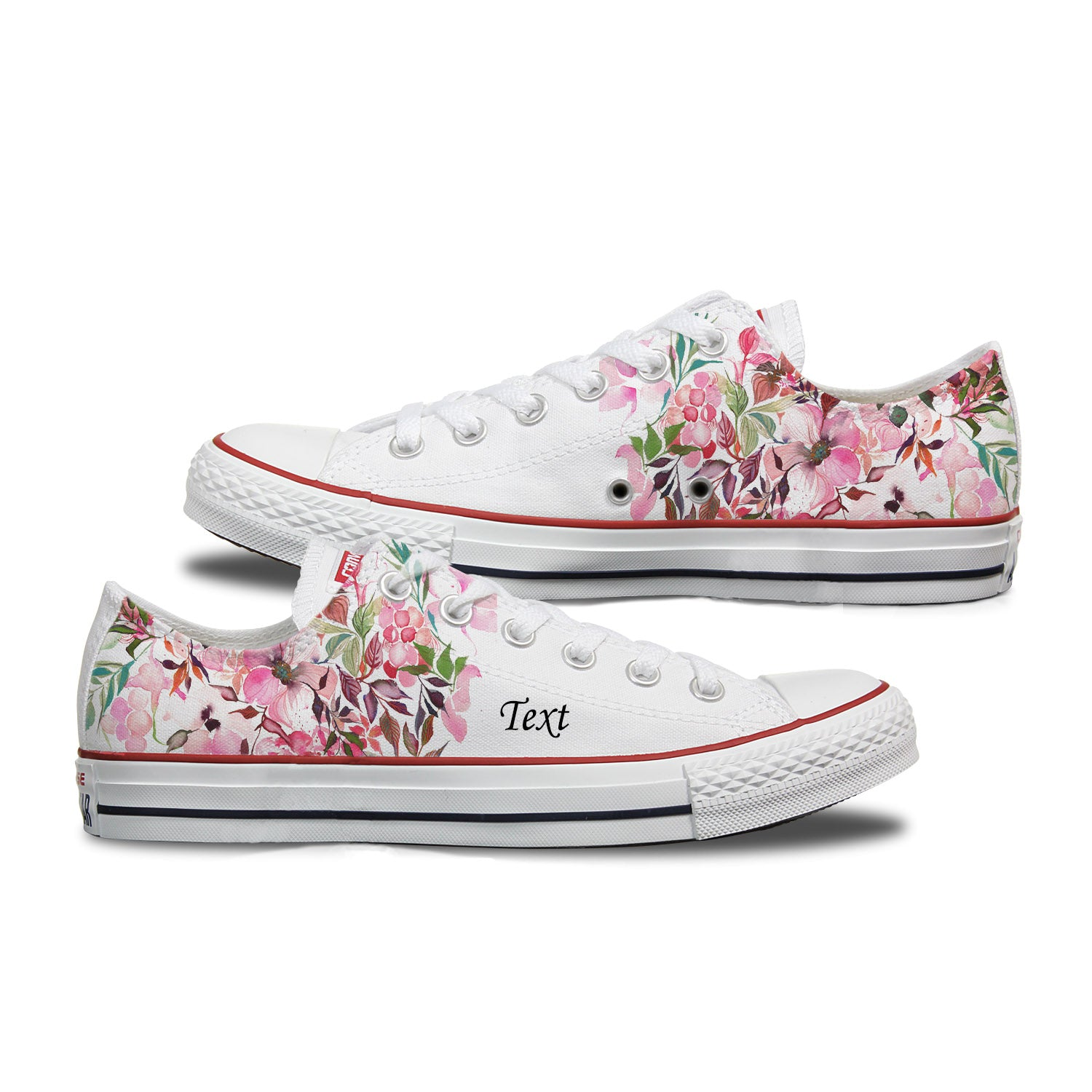 Flower Power Custom Converse