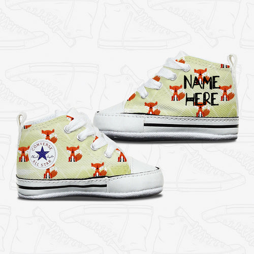 Foxy Baby Infant Converse Shoes