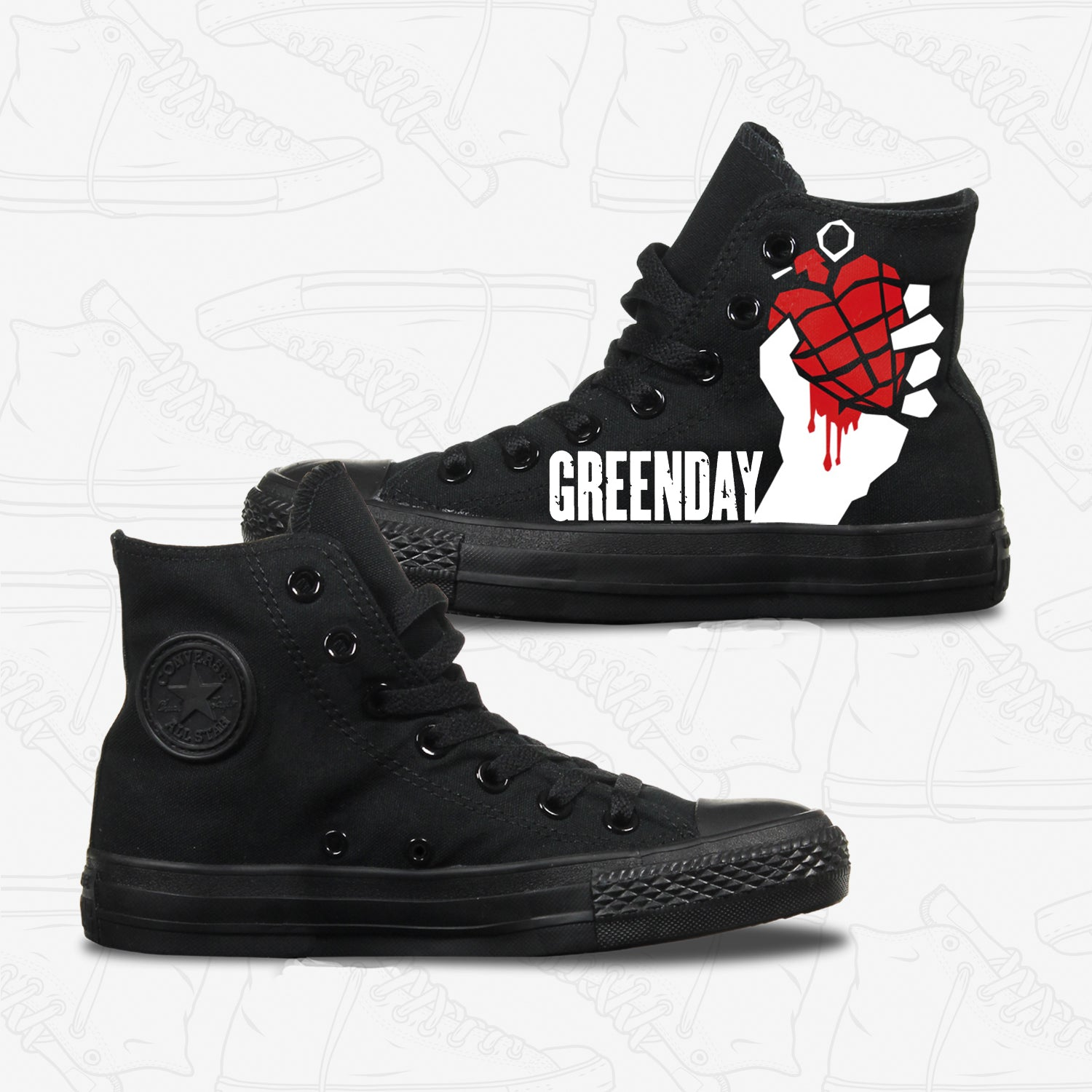 2converse green day