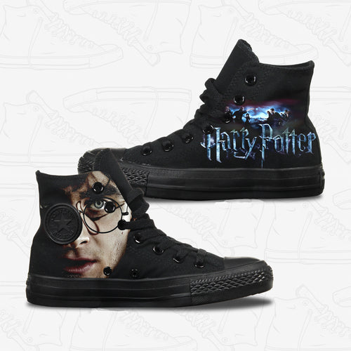 458c6751c3c921 Harry Potter Converse Shoes - Custom Designed – Bump Shoes