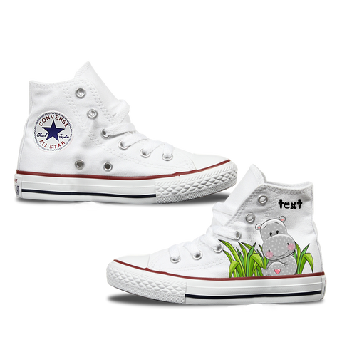 Hippo Kids Personalised Converse