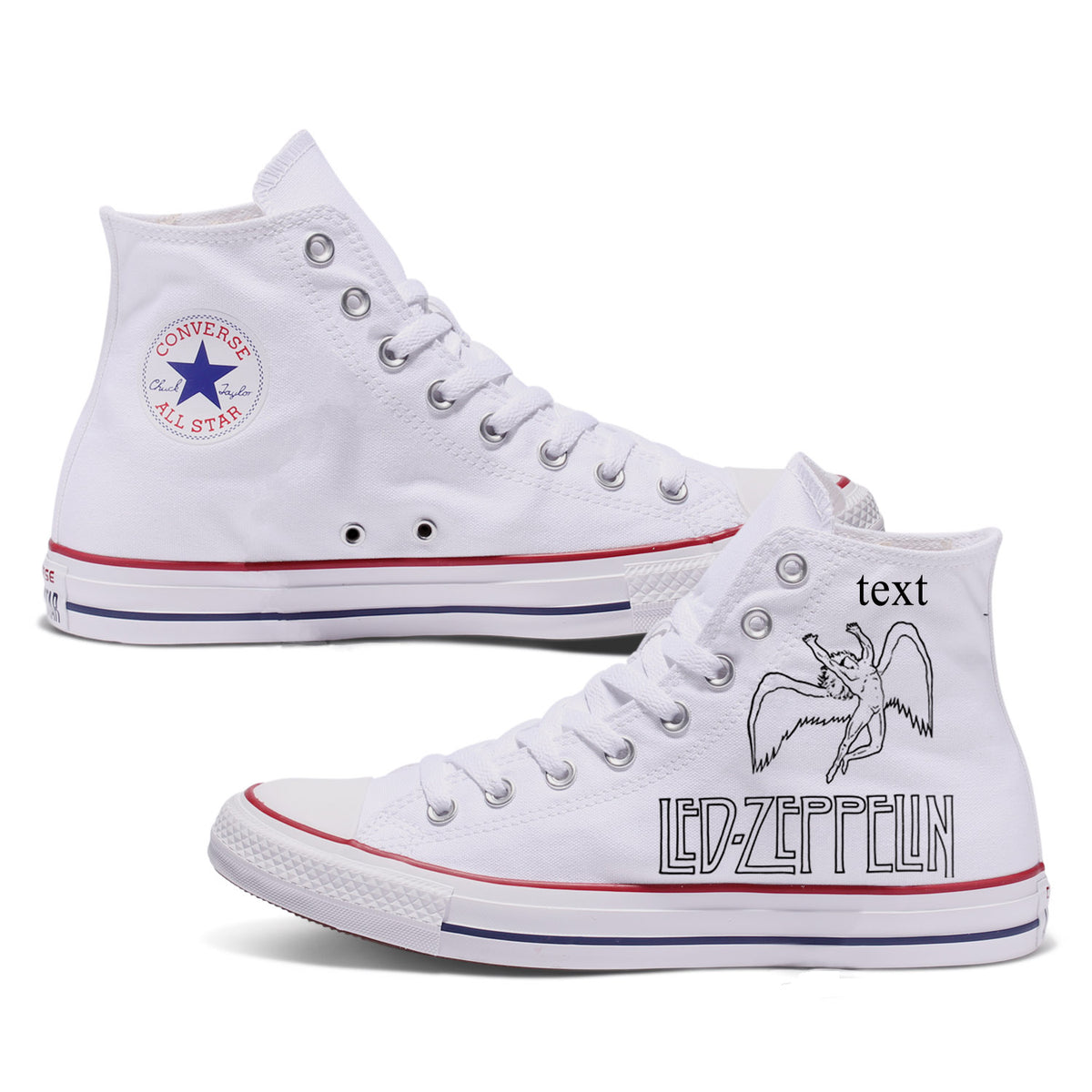 Led Zeppelin Custom Converse