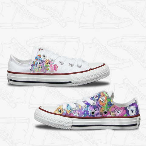 My Little Pony Kids Low Top Converse