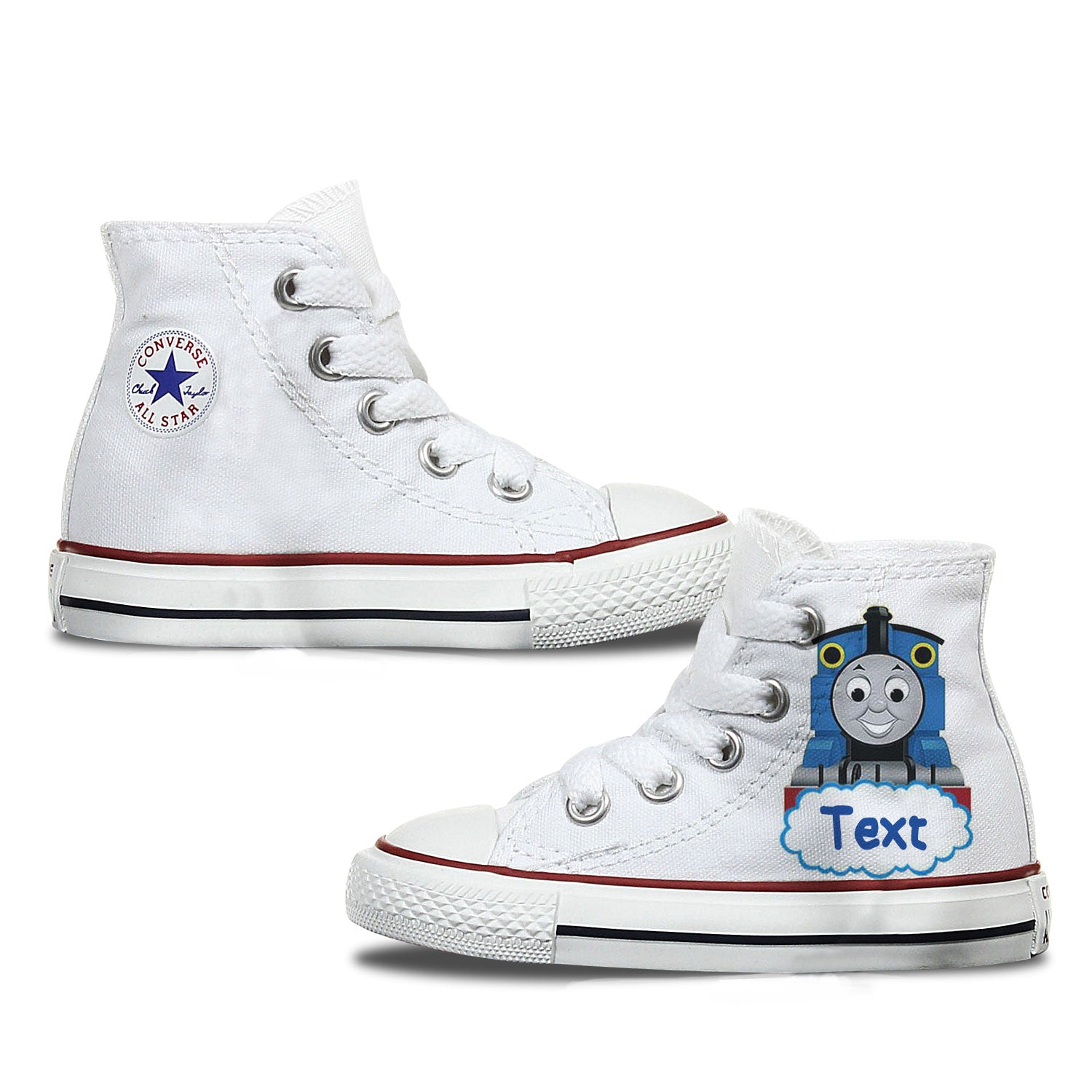 Thomas Kids Custom Converse