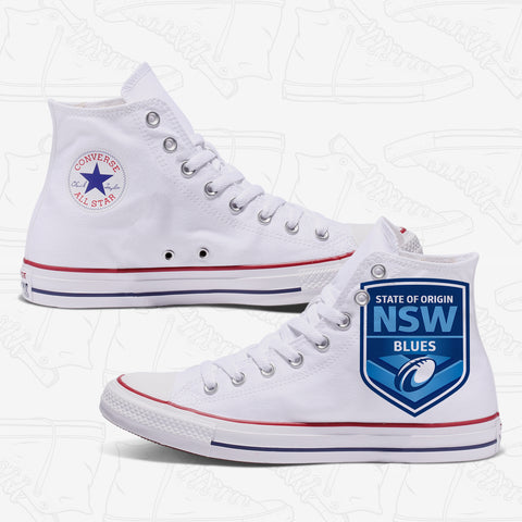 New South Wales Origin Custom Converse