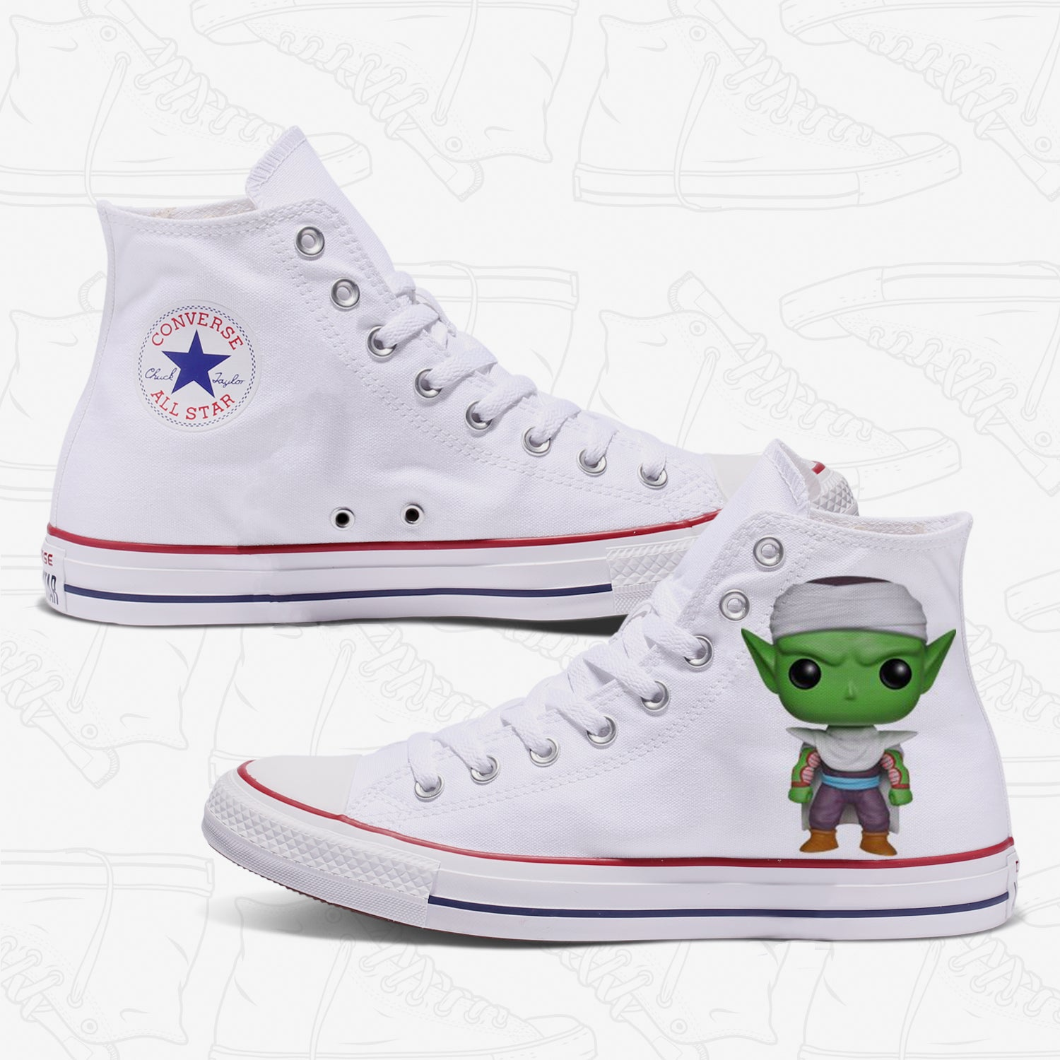 Piccolo Adult Converse Shoes