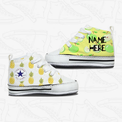 Baby Pineapple Apple Infant Converse Shoes