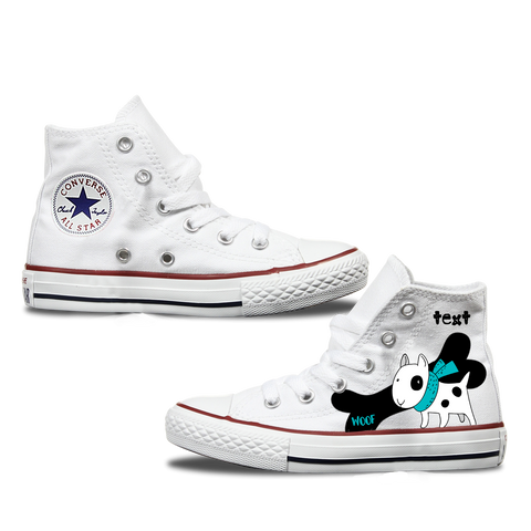 Pitbull Kids Personalised Converse