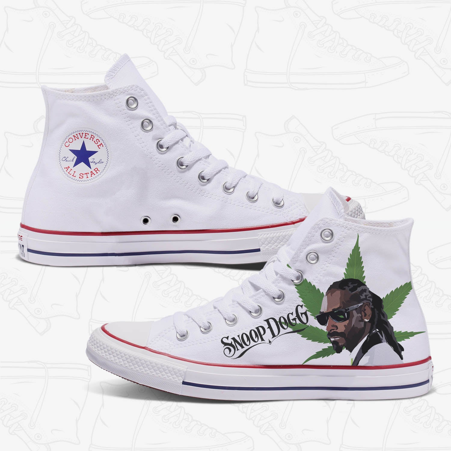 Snoop Dogg Custom Converse