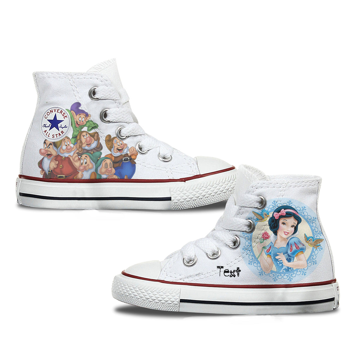 Snow White Custom Converse