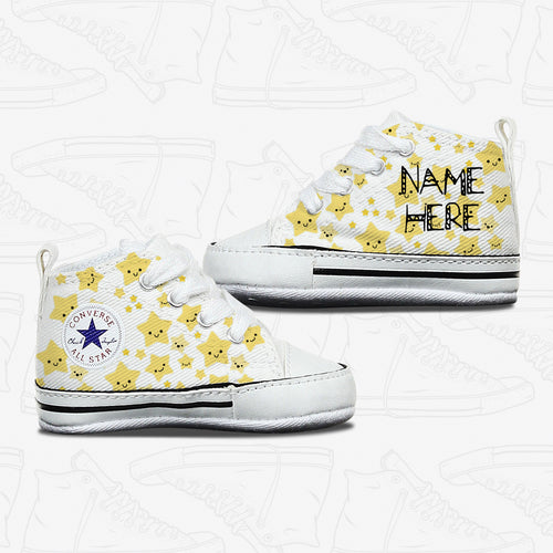 Star Baby Infant Converse Shoes