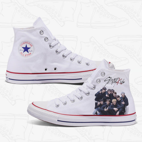 Stray Kids Custom Converse