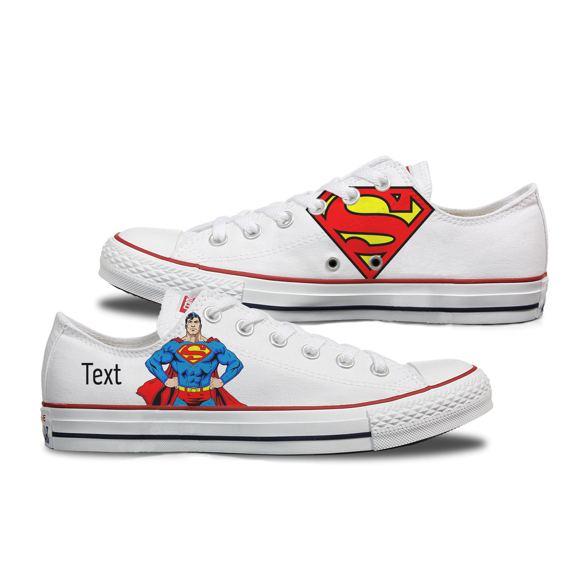 Superman Custom Converse