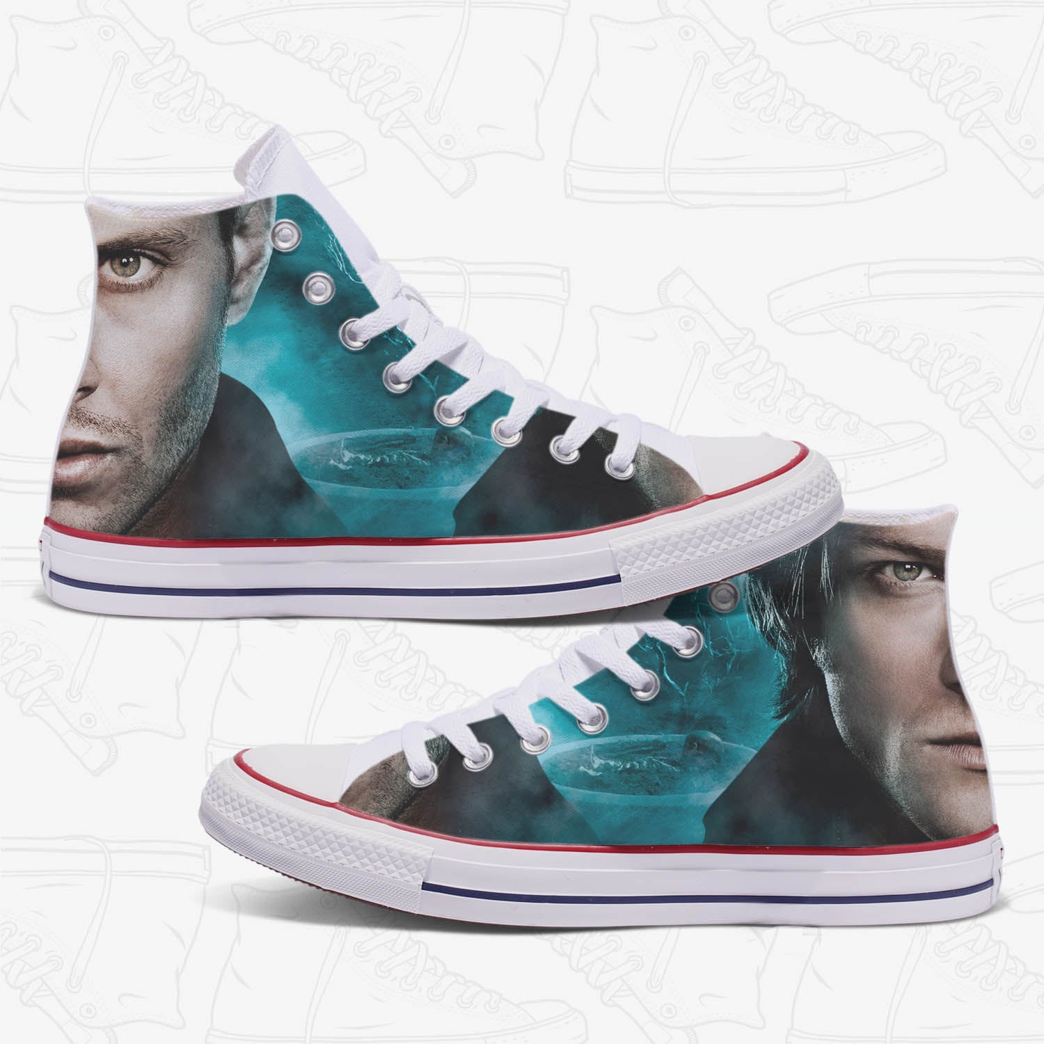 Supernatural Custom Converse