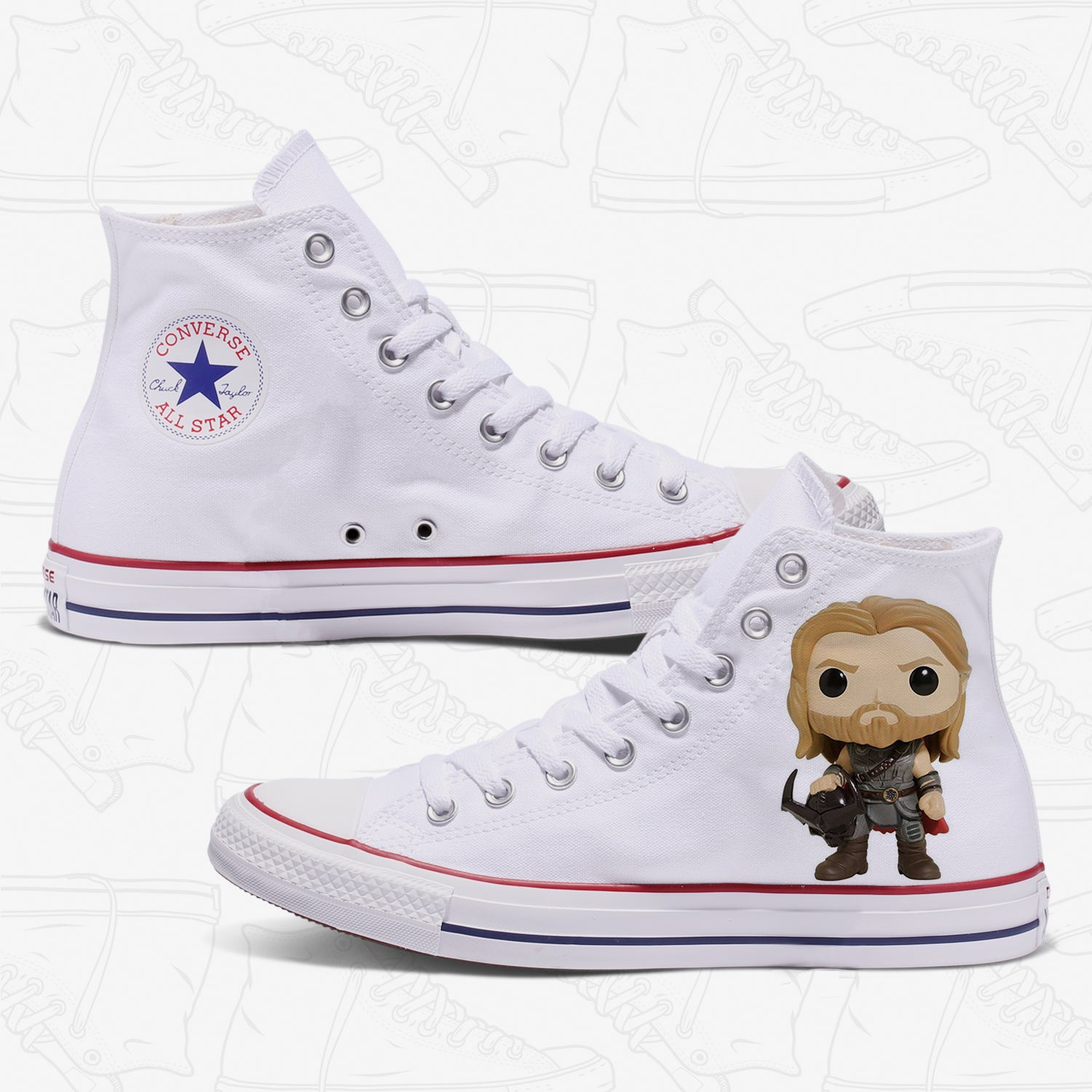 Thor Adult Converse Shoes
