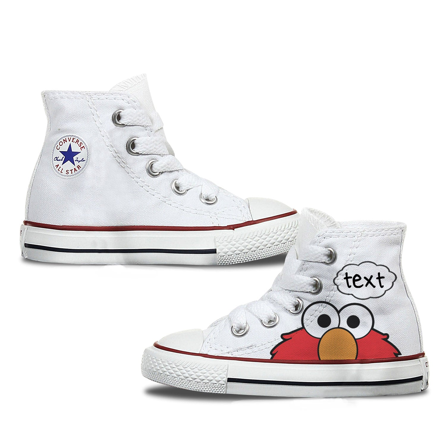 Elmo Kids Custom Converse