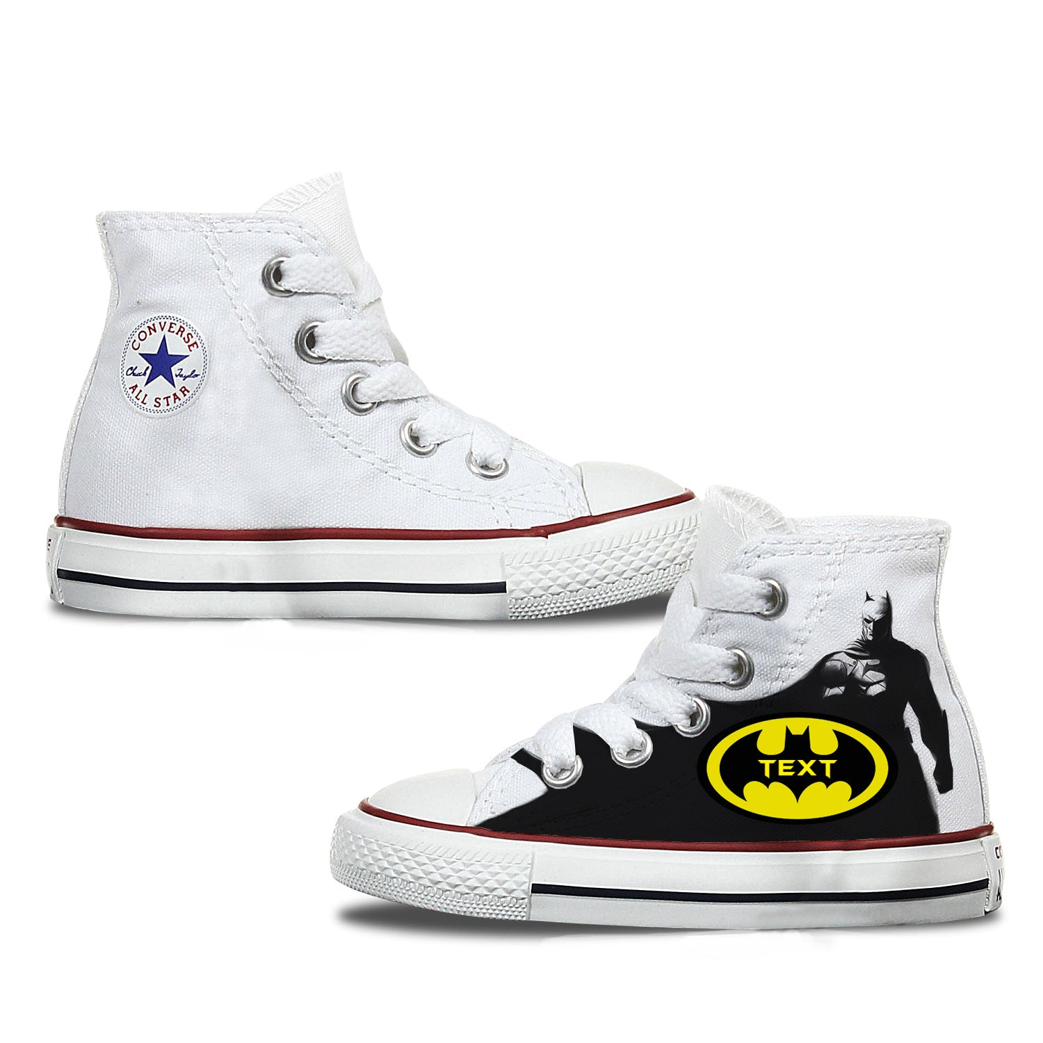 Batman Kids Custom Converse