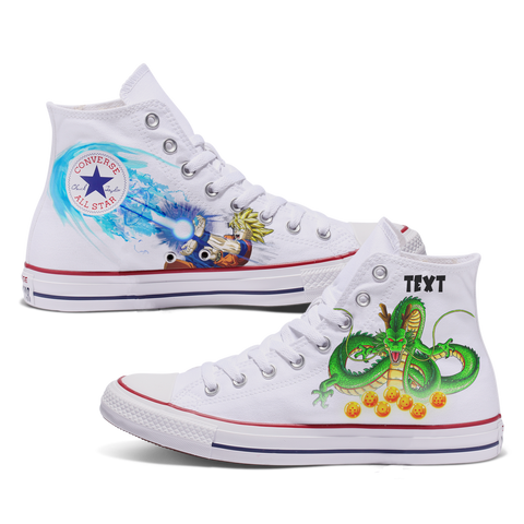 Buu Custom Converse White