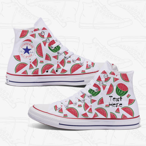 Watermelon Custom Adult Converse Chuck Taylor