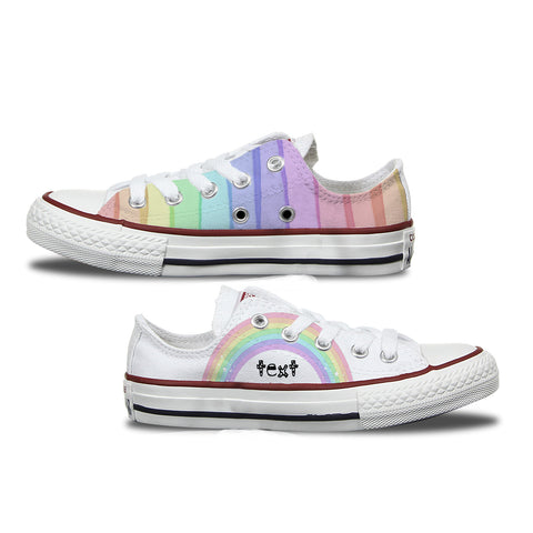 Unicorns & Rainbows Kids Converse