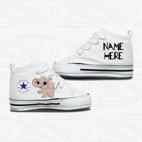 Baby Elephant Infant Converse Shoes