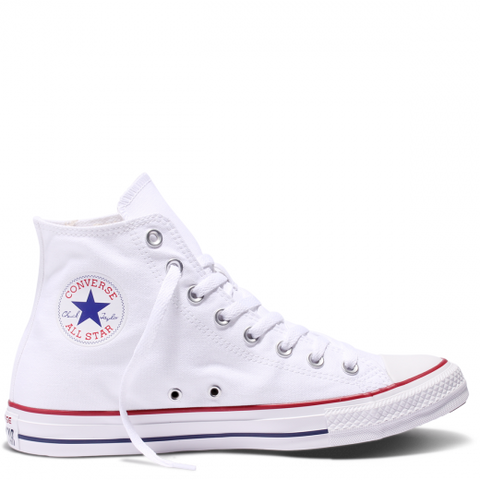 High Top Custom Converse Chuck Taylor - Classic White