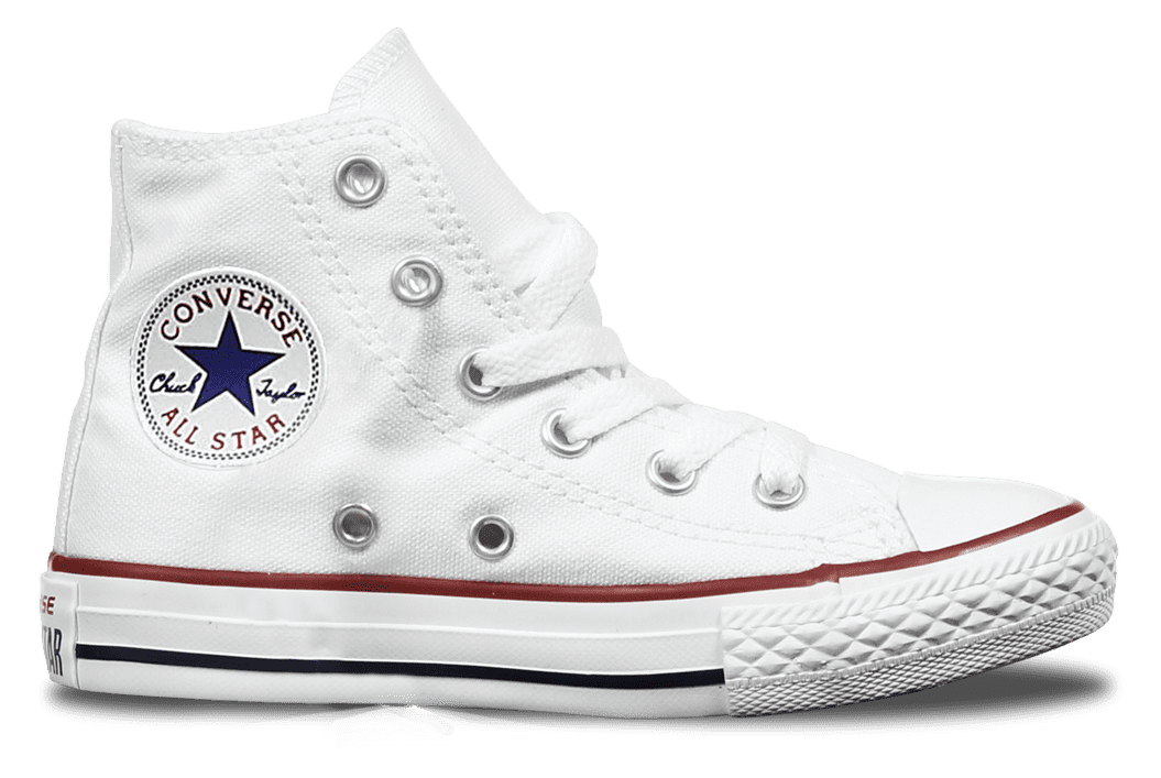 High Top Custom Converse Chuck Taylor Youth Shoe - Classic White