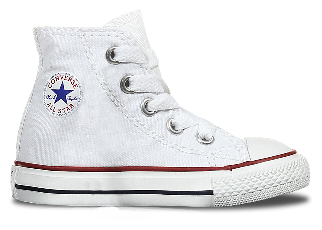 High Top Custom Converse Chuck Taylor Toddler Shoe - Classic White - panel 4