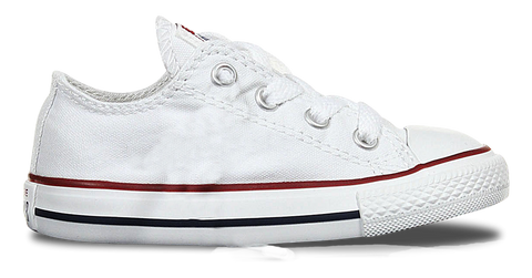 Low Top Custom Converse Chuck Taylor Toddler Shoe - Classic White - panel 4