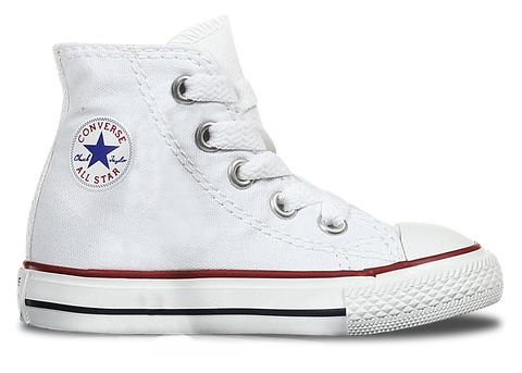 High Top Custom Converse Chuck Taylor Toddler Shoe Classic White