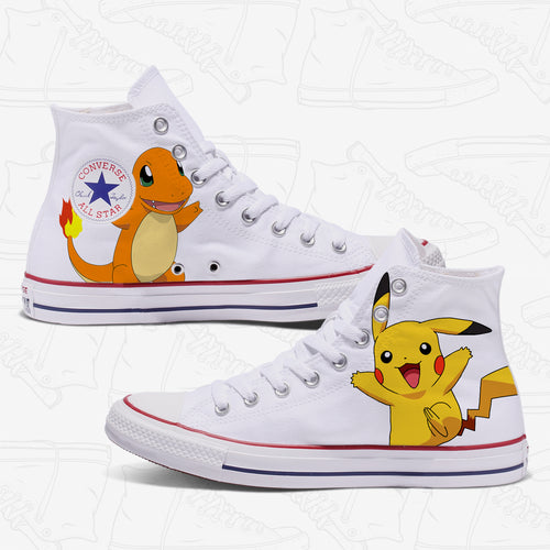 Pokemon Adult Converse Shoes